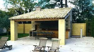 construction cuisine d été extérieure cuisine d ete en bois cuisine exterieure d ete cuisine ete bois