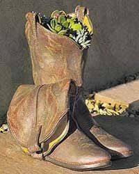 Cowboy Boot Planter by 170 Best Old Boots Garden Images On Pinterest Old Boots