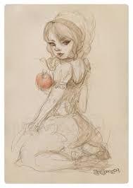 snow white sketch szejones deviantart