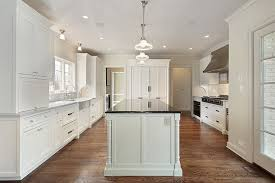 Home Depot Cabinets Transitional Kitchen Valspar Cream In My - Long kitchen cabinets