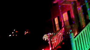 Light Flurries Snowflake Projector by Christmas 2014 Test With 5 Qvc Blisslights Chelsea Light