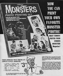 classic halloween monsters monster stuff for kids vintage horror comic u0026 magazine adverts