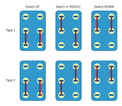simple parallel series select switch 3 steps