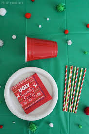 Ugly Christmas Sweater Party Decorations by Make Your Own Ugly Sweater Party