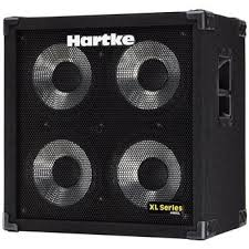 guitar speaker cabinets hartke xl series 4x10 bass guitar speaker cabinet and more bass