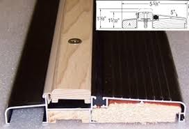 Wooden Exterior Door Threshold Outswing Exterior Door Thresholds Doorthresholds Us
