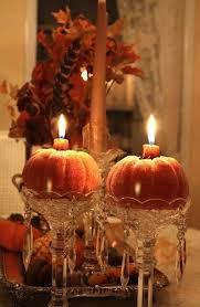 pumpkin candles home autumn fall decorate ideas pumpkin
