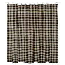 primitive burlap black check shower curtain chicago bears towels washcloths shower curtains bathroom inspirations chicago bears