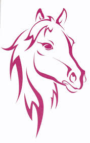 Horse Tattoo Ideas 148 Best Horse Stencils Images On Pinterest Horses Drawings And