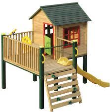 swing slide climb shangri la multiplay timber playhouse bunnings