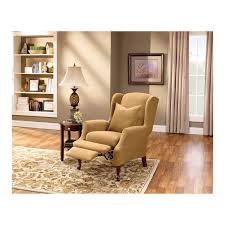 sure fit reclining sofa slipcover relaxation and comfort wing chair recliner u2014 the home redesign