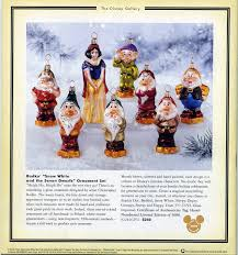 filmic light snow white archive disney catalog ornaments