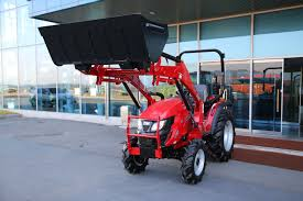 tx35h hydrostatic subcompact tractor front end loader attachment