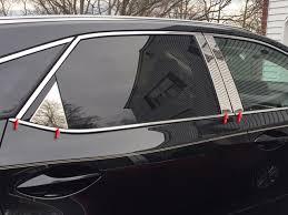 where is lexus rx 350 made lexus rx350 chrome pillar post trim 2016 2017 shopsar com