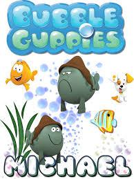 personalized custom name t shirt bubble guppies grumpy fish
