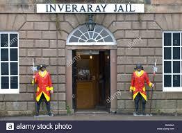main door front door of inveraray jail main street inveraray argyll scotland