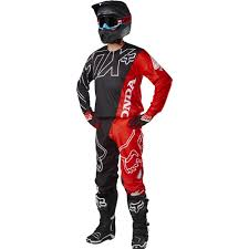 fox motocross suspension fox racing 2017 360 honda jersey pants package red available at