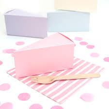 wedding cake gift boxes wedding cake slice boxes available to buy at blossom co uk