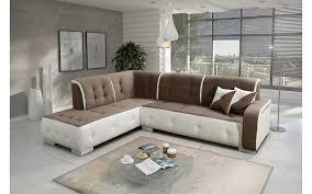 canapé d angle canapé d angle gauche florida taupe et blanc top déco
