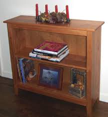 Solid Cherry Wood Bookcase Nhwoodworking Shaker Styled Solid Cherry Bookcase