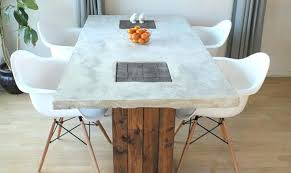 Concrete Side Table Side Table Diy Concrete Side Table Back Yard Coffee Top Made Of