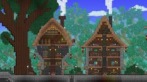terraria thatched roof style homes terraria pinterest