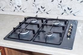 poêle de gaz de cuisine photo stock image du grille 26810020