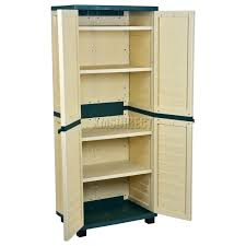 Rubbermaid Storage Cabinet With Doors Outdoor Storage Cabinets With Doors Starplast Utility Cabinet Var