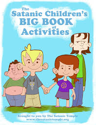 children activities the satanic children u0027s big book of activities the satanic temple