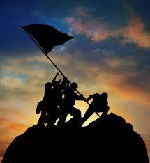 Flag Iwo Jima Soldiers Raising The Flag At Iwo Jima