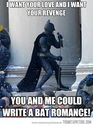 Funny Batman Meme - bat romance the meta picture