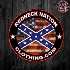Confederate Flag Rear Window Decal Redneck Nation Classic Rnst 7