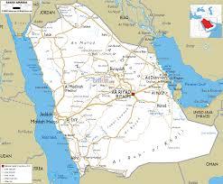 Arabian Peninsula Map Detailed Clear Large Road Map Of Saudi Arabia Ezilon Maps