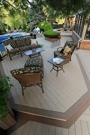 deck board accent idea trim the borders of your deck as well as