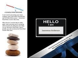Powerpoint Resume Interactive Powerpoint Resume Slide Show Sample 12