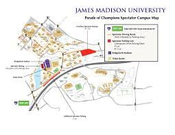Map And Directions James Madison University Parade Of Champions Maps And Directions