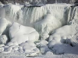 nissan canada niagara falls images of frozen niagara falls business insider