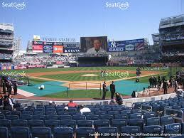 Yankee Stadium Floor Plan Yankee Stadium Section 203 Seat Views Seatgeek