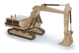 diy plans for wooden excavator free projetos para experimentar