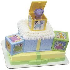 decopac abc baby blocks signature cake decoset