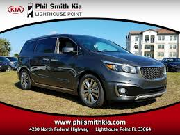 new 2017 kia sedona sxl lighthouse point fl vin kndme5c19h6282622