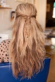 half up half down prom hairstyles braided half up half down