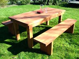 articles with octagon picnic table plans with detached benches tag