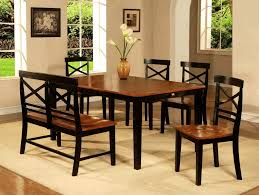 painting a dining room table yellow wall painting and white wood combination classic black