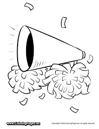 cheer bow coloring pages coloring pages cheer coloring pages