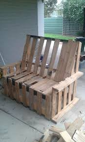 50 best pallet bench images on pinterest recycled pallets