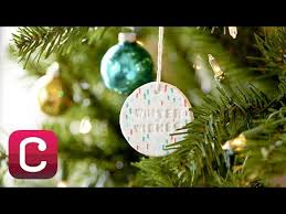 make paper clay ornaments with cerruti