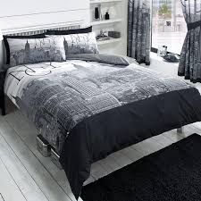 Grey Themed Bedroom by Total Fab New York City Skyline Bedding U0026 Nyc Themed Bedroom
