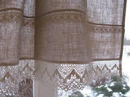 tende in pizzo francese grigio lino tenda romantici cafe tende con pizzo bordo trim