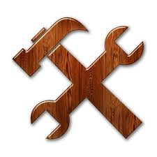 wood tools hammer and wrench web tool web tools icon 081671 icons etc